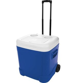 Ice Cube 60qt Wheeled Cooler - Majestic Blue