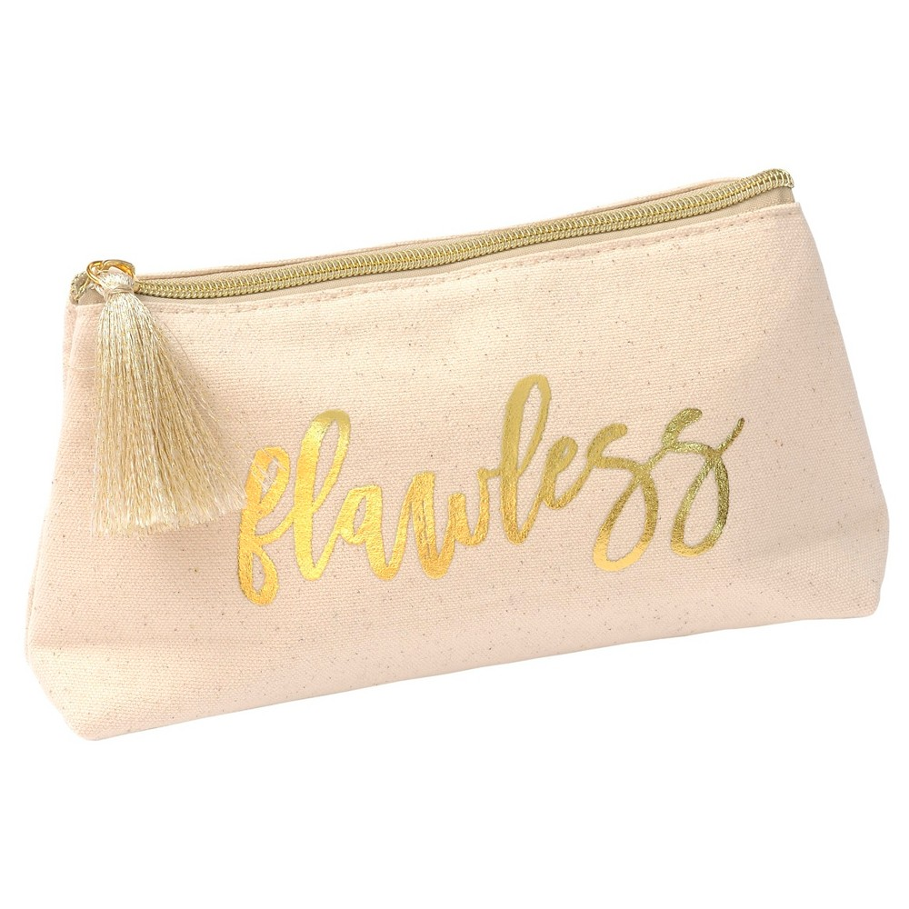 Cosmetic Bag Gold, Beige, makeup bags and organizers