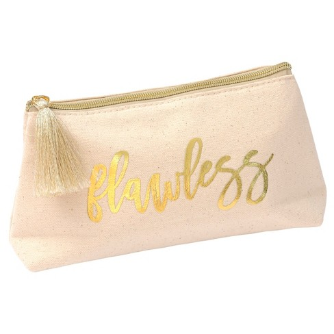 Mara-Mi Gold Cosmetic Bag - image 1 of 1