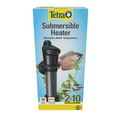 Tetra HT Submersible Heater 50 Watts, For Aquariums Up To 10 Gallons, UL Listed