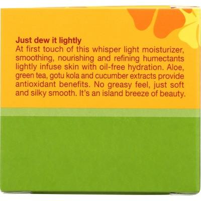 Alba Hawaiian Refining Aloe & Green Tea Oil-Free Moisturizer- 3oz