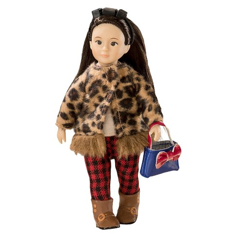 Lori Doll Outfit - Leopard Jacket - image 1 of 3