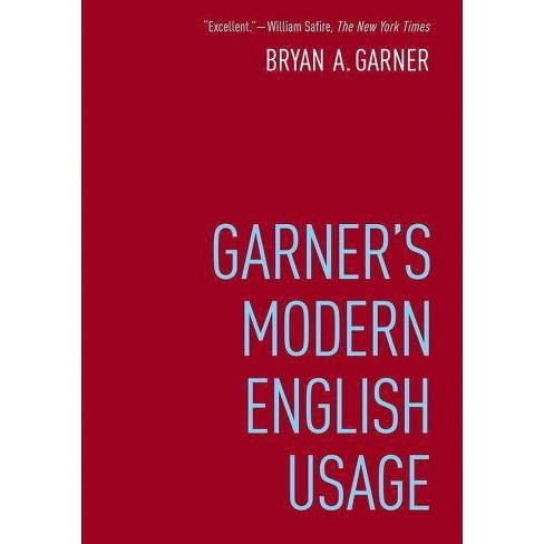 Garner's Modern English Usage - 4 Edition by  Bryan Garner (Hardcover) - image 1 of 1