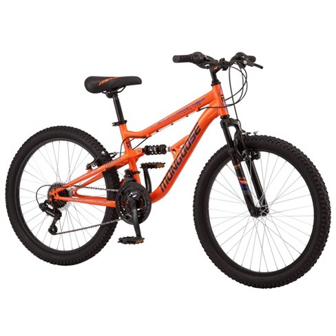 "Mongoose Standoff 24"" Kid's Mountain Bike - Orange - image 1 of 4"