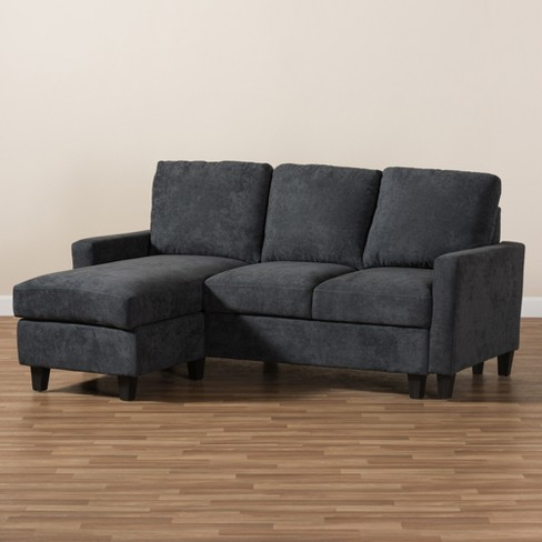 Baxton Studio Greyson Modern And Contemporary Fabric Upholstered ...