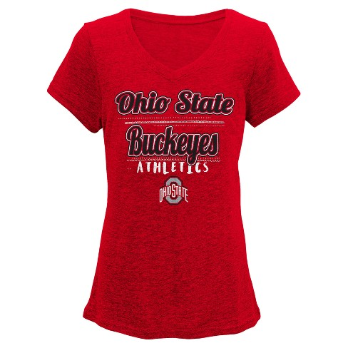 NCAA Ohio State Buckeyes Girls  Love V-Neck T-Shirt   Target f522b7b60