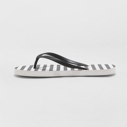 da9e8a0642b Women s Sara Gingham Flip Flops - Shade   Shore™ Gray 10   Target