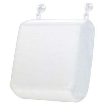 Memory Foam Bath Pillow Large White - Ginsey