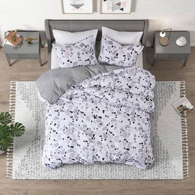 Terrazzo Cotton Printed Comforter Set