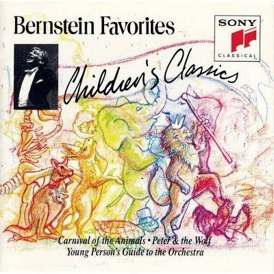 Bernstein, Leonard; Britten, Benjamin; Prokofiev, Sergey; Saint-Sa‰ns, Camille; New York Philharmonic - Bernstein Favorites: Children's Classics (CD)