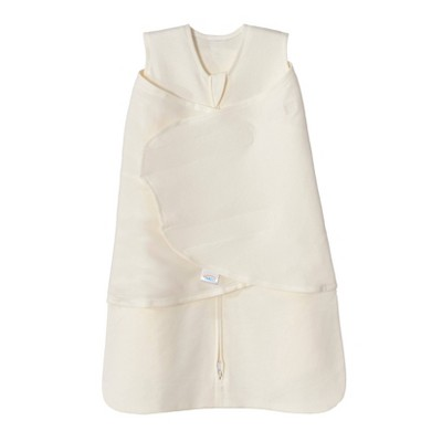 HALO Innovations Micro-Fleece Sleepsack Swaddle Wrap - Cream NB