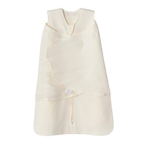 HALO Sleepsack 100% Cotton Swaddle - Cream - S - image 1 of 4