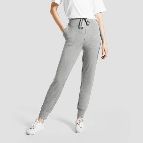 Hue Studio Women S Super Soft Joggers With Pockets Heather G