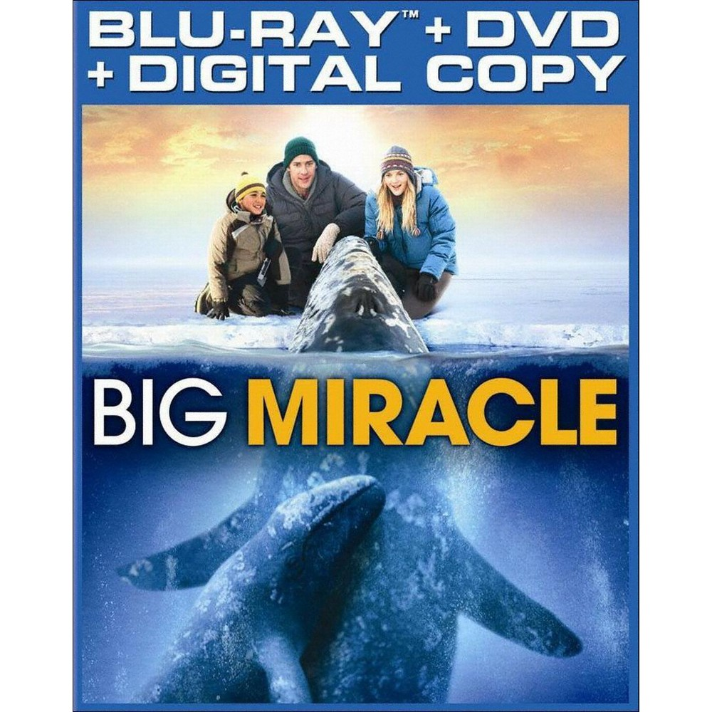 Big Miracle (Blu-ray) (UltraViolet) (Includes Digital Copy)