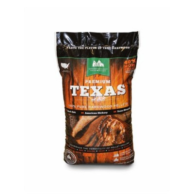 Green Mountain Grills Premium Texas Pure Hardwood Outdoor BBQ Grilling Pellets