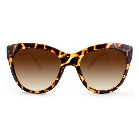 Women's Cateye Sunglasses - A New Day™ Brown - image 1 of 3