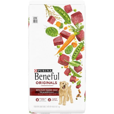 Purina Beneful Originals with Real Beef Adult Dry Dog Food