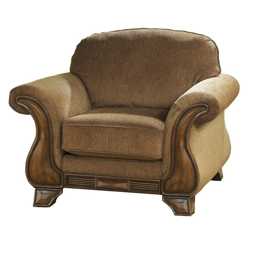 Accent Chairs Mocha Brown Vanilla - Signature Design by Ashley