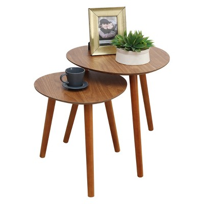 Oslo Java Nesting End Tables Java - Breighton Home : Target