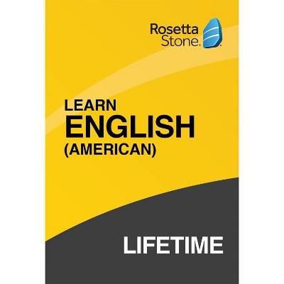 Rosetta Stone Lifetime English (Hardcover)