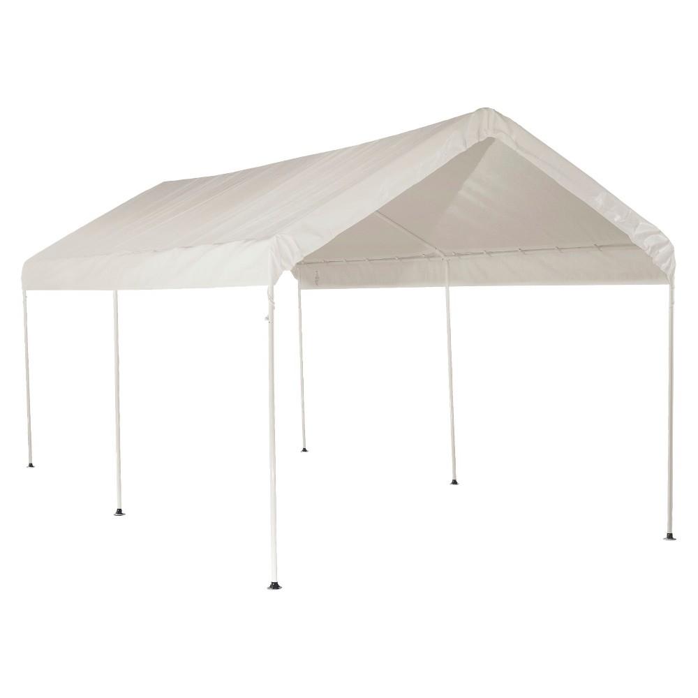 3-Rib Frame 10' x 20' White Cover - Shelter Logic