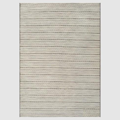 Pattern Stripe Outdoor Rug - Threshold™ - image 1 of 3