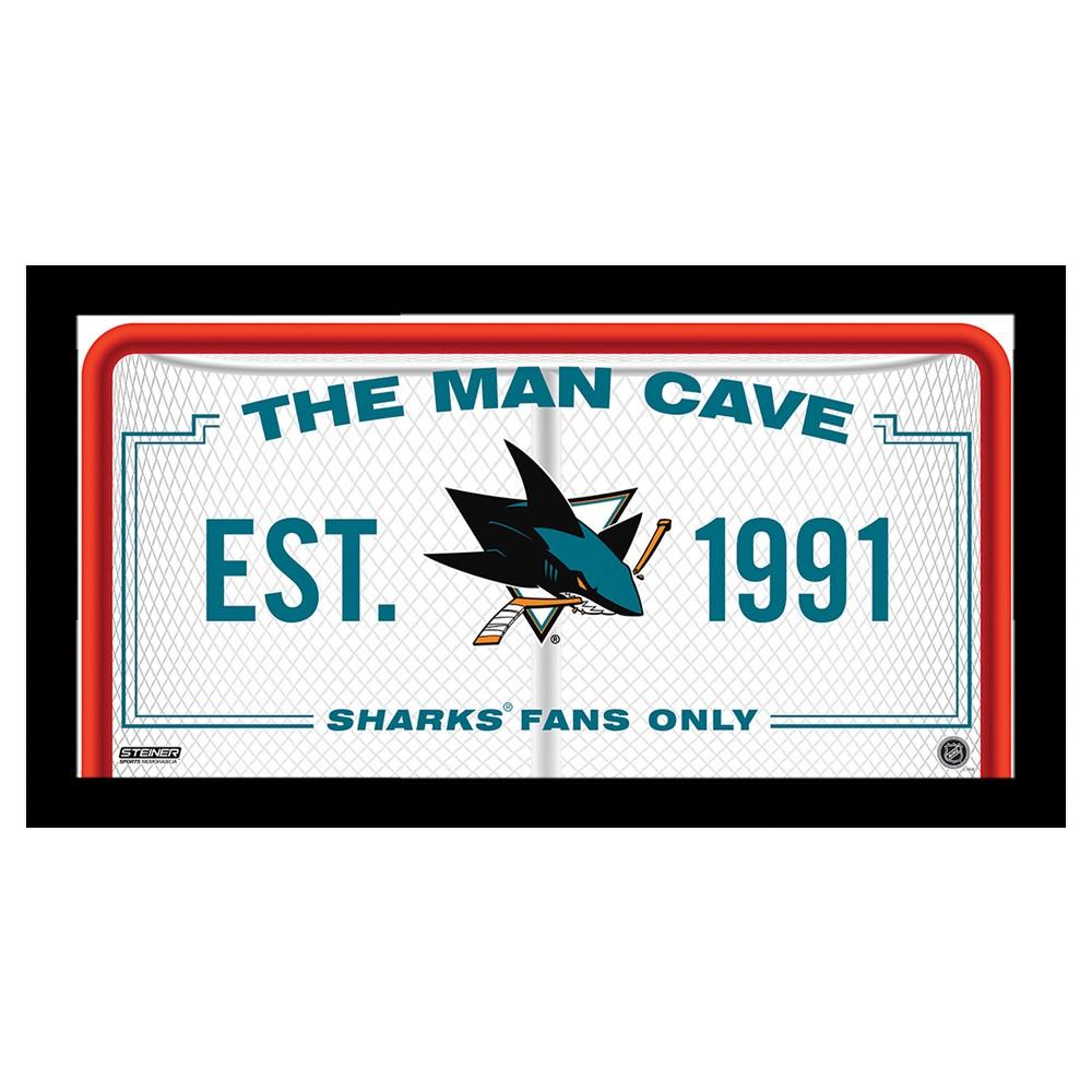 SS 10x20 Man Cave Signs San Jose Sharks