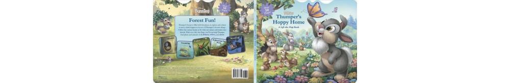 Disney Thumper's Hoppy Home : A Lift-the-Flap Book - by C...