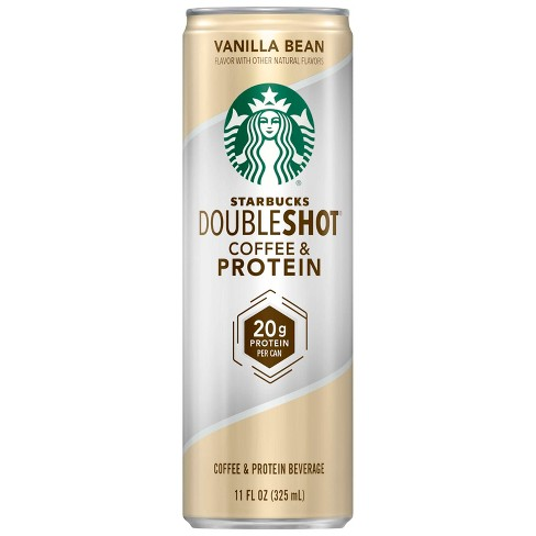 Starbucks Vanilla Doubleshot Coffee Protein - 11 fl oz Can - image 1 of 3
