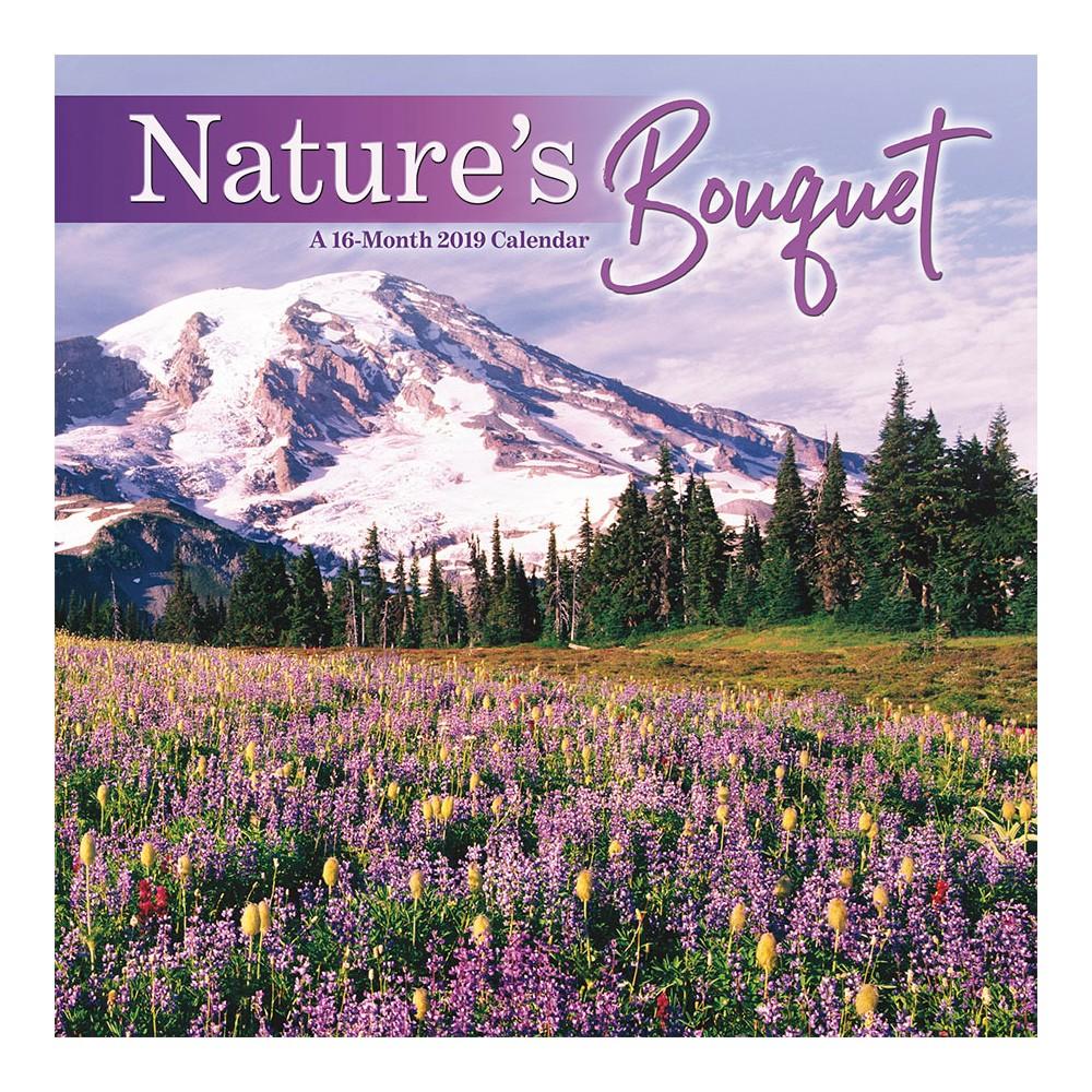 2019 Wall Calendar Nature's Bouquet - Trends International, Multi-Colored