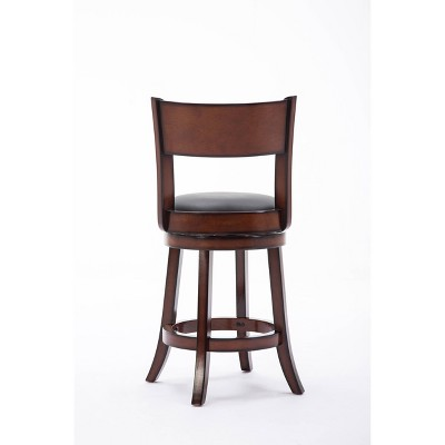 'Boraam Industries Palmetto 24'' Counter Stool - Brandy, Size: 24'' Counterstool'