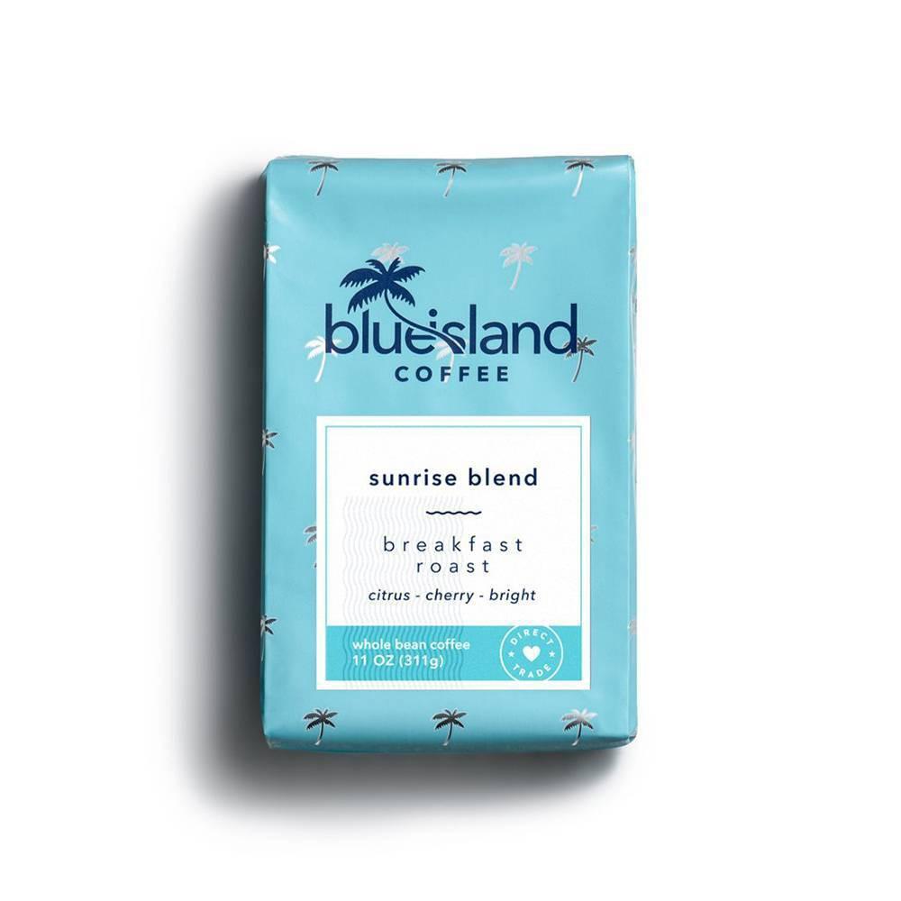 Blue Island Coffee Sunrise Blend Ground Light Roast Coffee 11oz