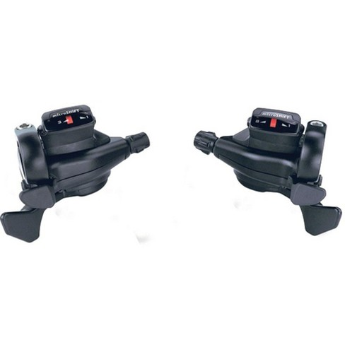 microSHIFT Internal Gear Drop Bar Shifter Set Shimano Alfine 11 Compatible