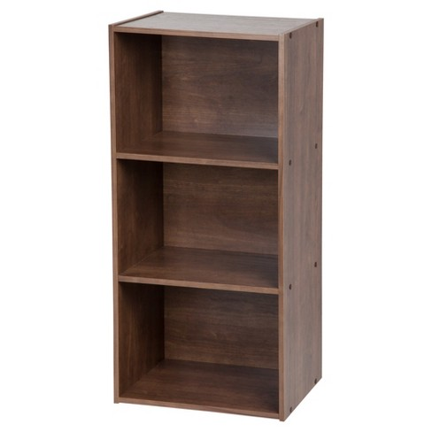IRIS 3-Tier Storage Shelves - Dark Brown - image 1 of 4