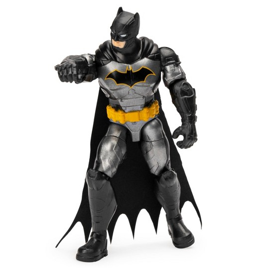 "Batman Rebirth Tactical Batman 4"" Action Figure with 3 Mystery Accessories, Mission 2 image number null"