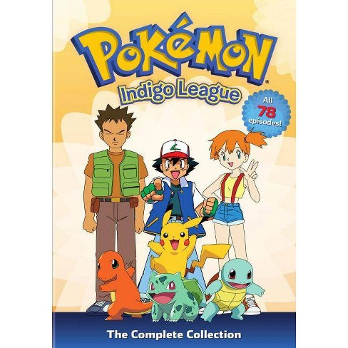 Pokemon: Season 1 Indigo League Complete Collection (DVD) - image 1 of 1