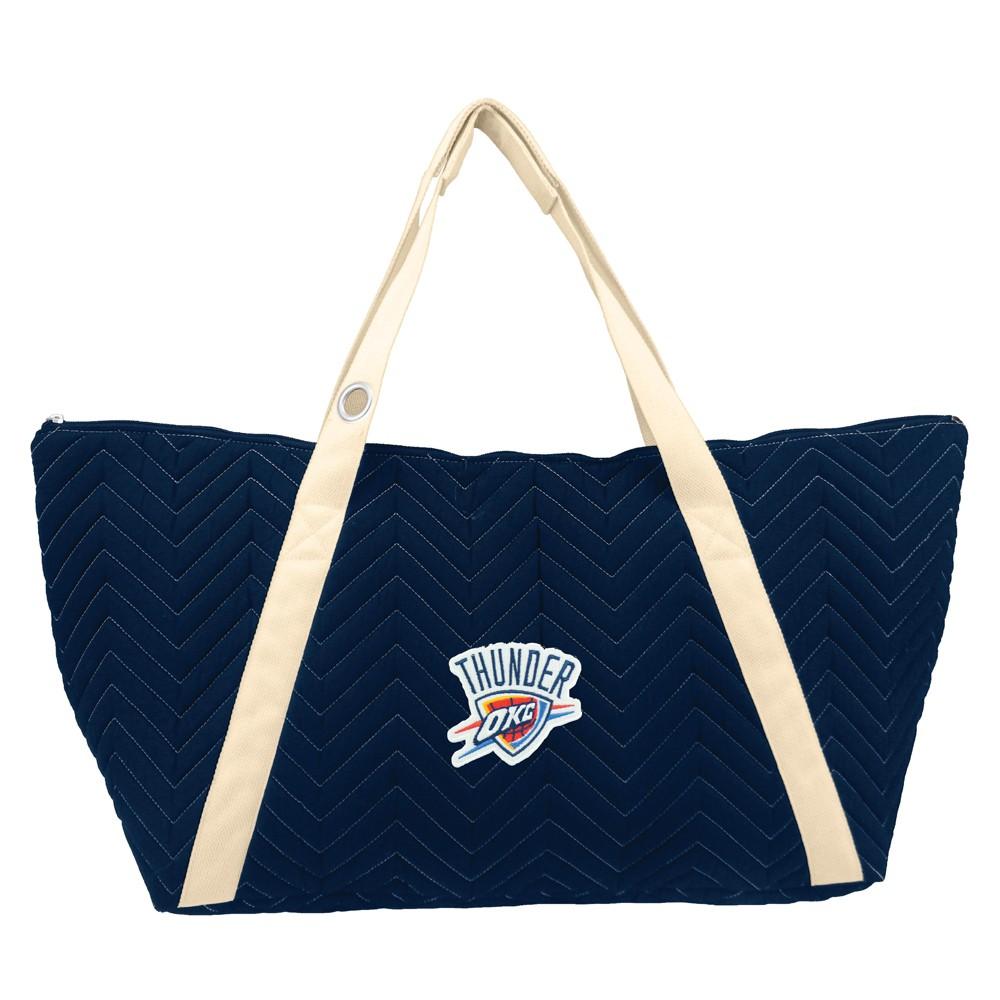 NBA Oklahoma City Thunder Chev Stitch Weekender Bag