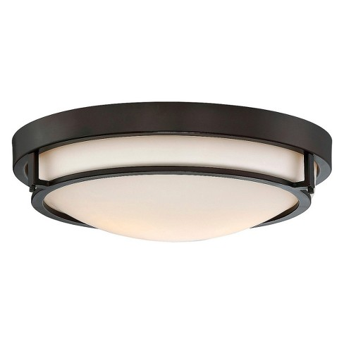 Oil Rubbed Bronze Flush Mount Ceiling Lights Filament Design