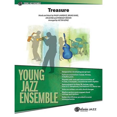 Alfred Treasure Jazz Band Grade 2 Set - image 1 of 1