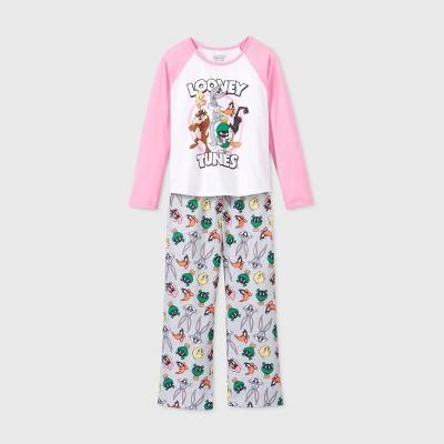 Girls' Looney Toons 2pc Pajama Set