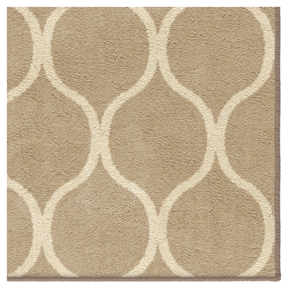 """Image of """"Adobe Solid Woven Area Rug - (5'3""""""""X7'6"""""""") - Orian, White"""""""