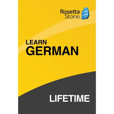 Rosetta Stone Lifetime German (Hardcover)