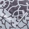 Kate Aurora Living 2 Pack Reversible Geometric Room Darkening Grommet Curtains - image 3 of 4