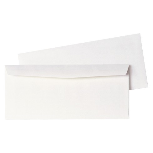 "Quality Park Plain Envelope 500Ct - White (4.12""X9.5"") - image 1 of 1"