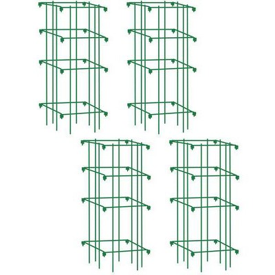 Heavy Duty Tomato Cages, Heavy Gauge Powder-coated Steel, Set of 4 - Gardener's Supply Company