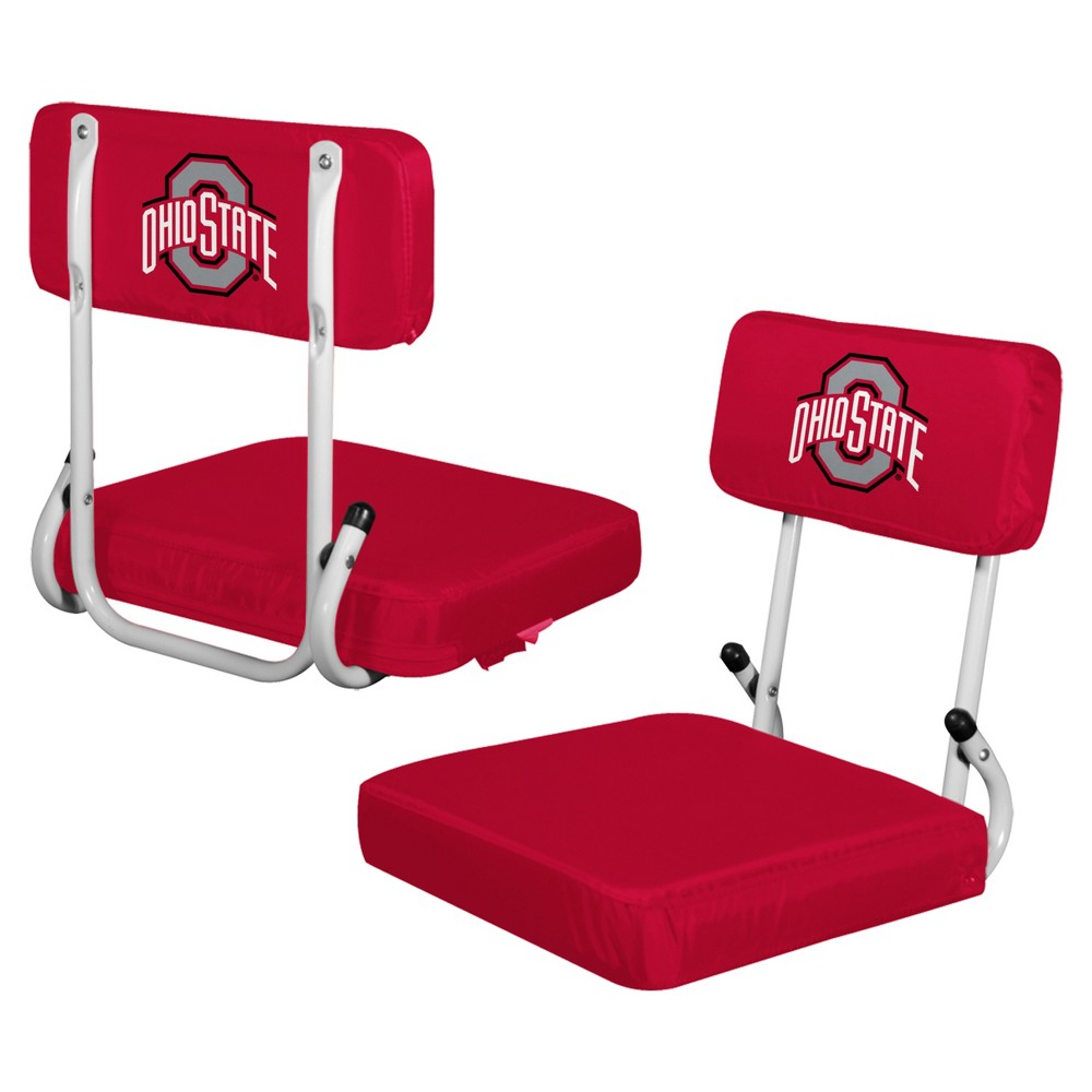 NCAA Ohio State Buckeyes Logo Brands Hard Back Stadium Seat