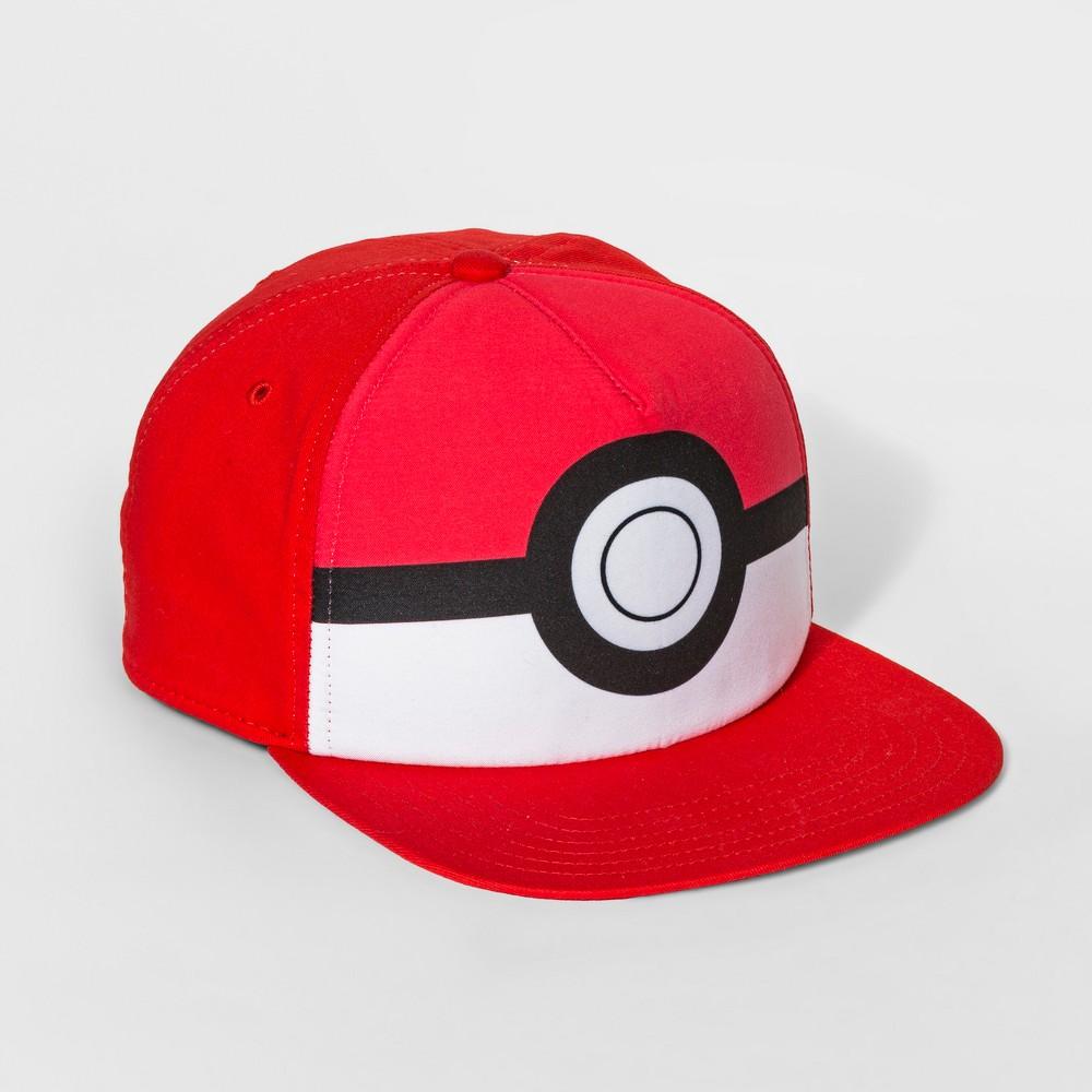 Image of Boys' Pokemon Baseball Hat - Red, Boy's, Size: Large