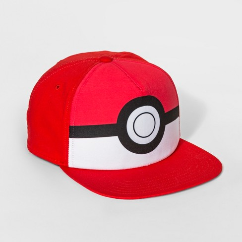 Boys  Pokemon Baseball Hat - Red   Target c2f5029c4b4