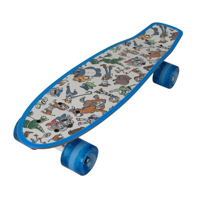 Bravo Toy Story 4 Classic Woody & Fork Love Skateboard - Orange/Blue