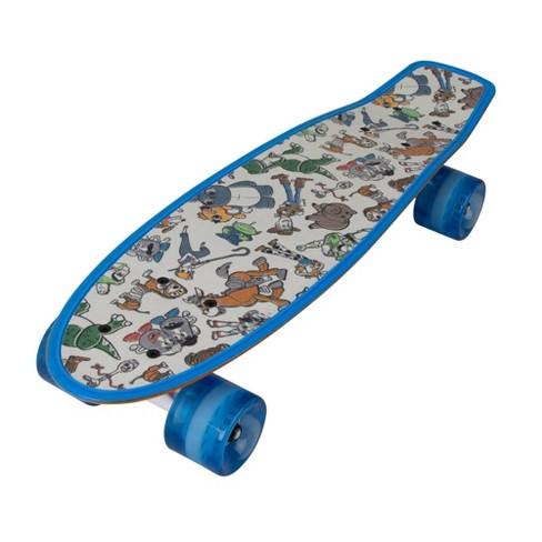 Bravo Toy Story 4 Classic Woody & Fork Love Skateboard - Orange/Blue - image 1 of 4
